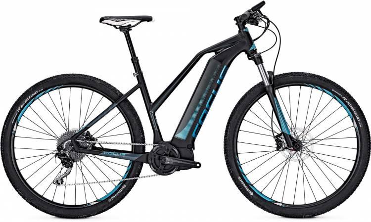 Focus Jarifa I29 Donna black/blue 2017 - E-Bike Hardtail Mountainbike Women