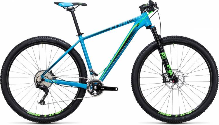 Cube LTD SL 27.5/29 2x blue n green 2017