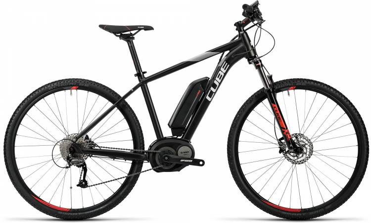Cube Cross Hybrid Pro 400 black n red 2016