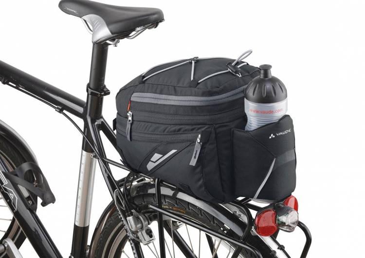 Vaude Silkroad L Gepäckträgertasche schwarz