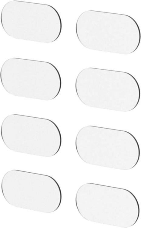 Cube stone chip protection pad set transparent