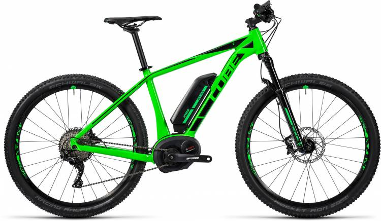 Cube Reaction Hybrid HPA SL 500 27.5 / 29 green n black 2016
