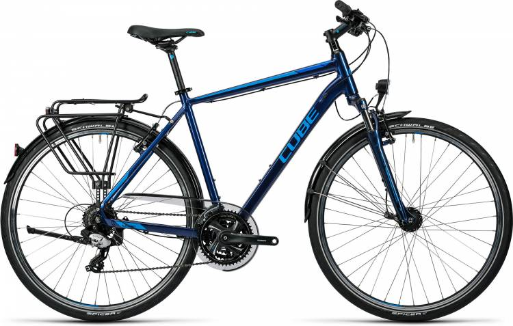 Cube Touring midnight blue metallic Herren 2016