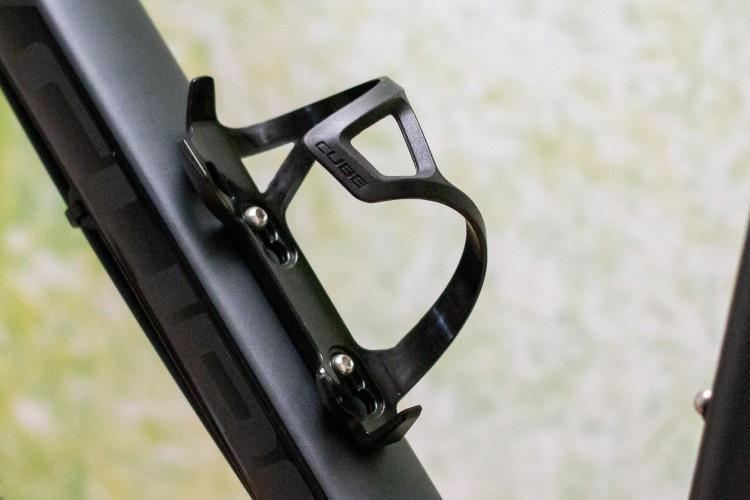 Cube bottle cage HPP Left-Hand Sidecage black n black
