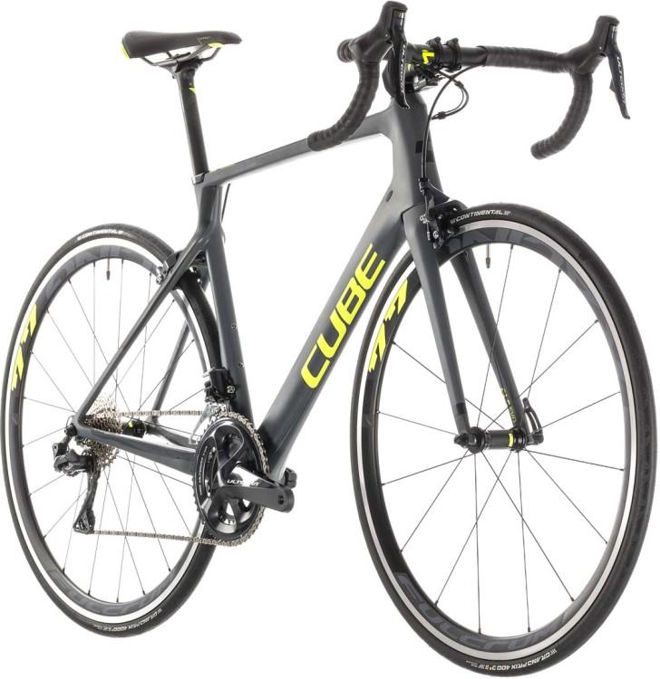 457508fb247 Cube Agree C:62 SL grey n flashyellow 2019 Race Bike ▷ buy online ...