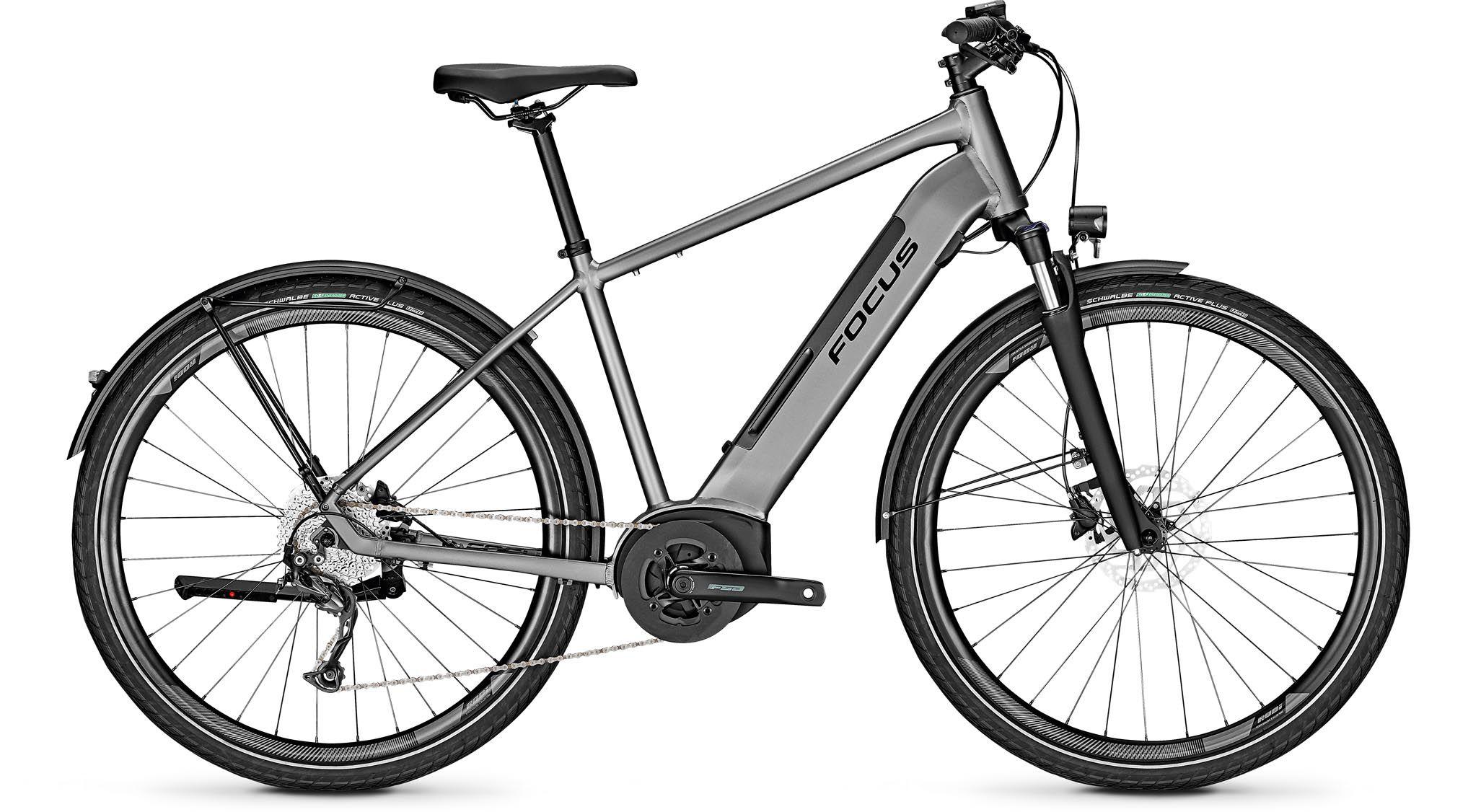 Focus Planet2 5 9 Toronto Grey 2020 Touring E Bike Men Mhw
