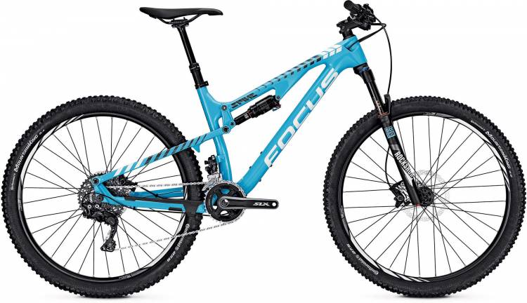 Focus Spine C Lite 27 blue/white 2017 - Fully Mountainbike
