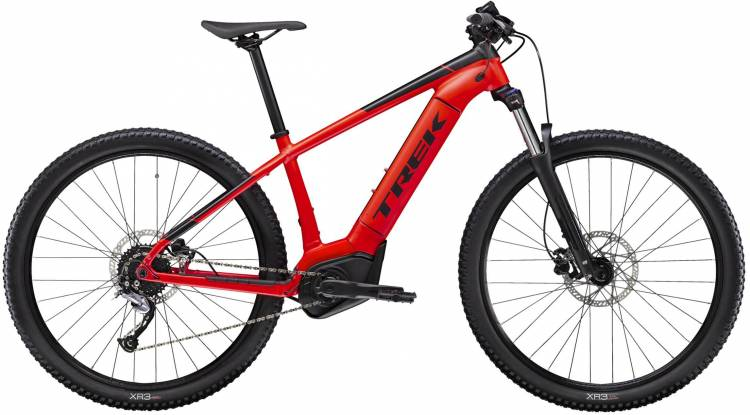 Trek Powerfly 4 Matte Radioactive Red/Trek Black 2020