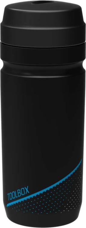 Cube tool bottle 0,6l black n grey n blue