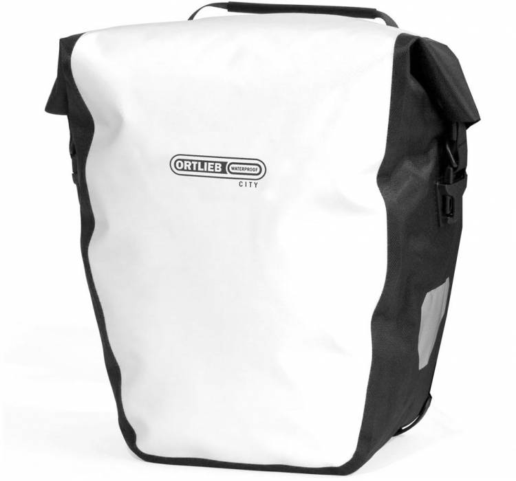 Ortlieb Back-Roller City (pair) rear wheel bag white