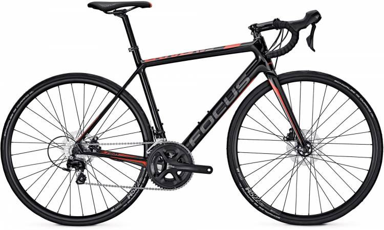 Focus Cayo Disc 105 carbon/red/grey 2017