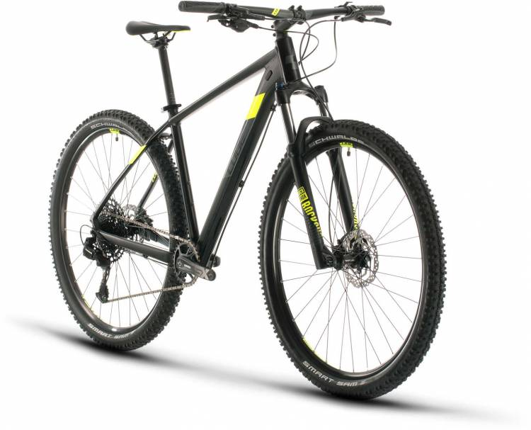 Cube Analog black n flashyellow 2020 - Hardtail Mountainbike
