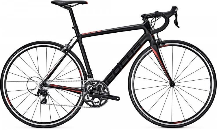 Focus Cayo 105 M carbon/red/black 2017 - Road Bike Carbon Men