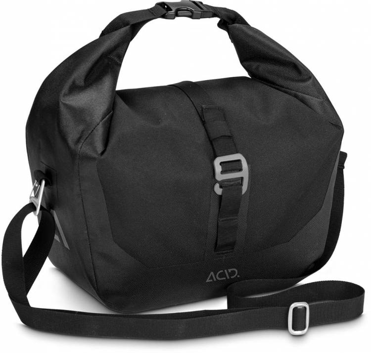 ACID Bicycle Bag TRAVLR FRONT 6 FILink black
