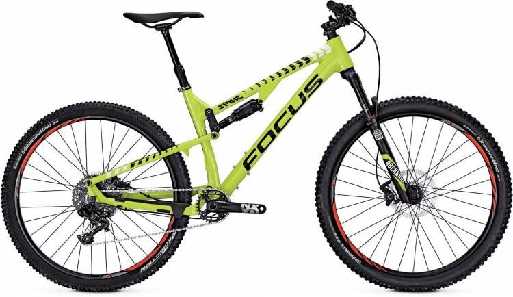 Focus Spine Evo 27 lime green/white 2017 - Fully Mountainbike