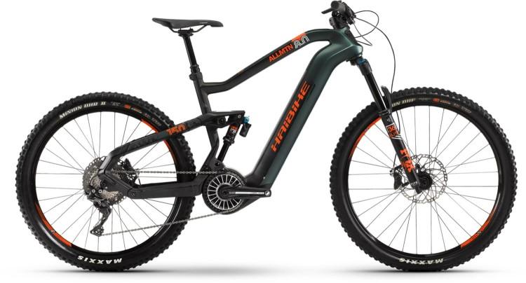 Haibike XDURO AllMtn 8.0 FLYON i630Wh olive/carbon/orange matt 2021