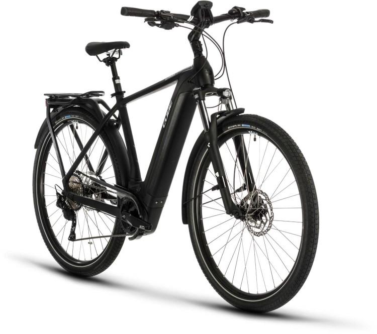 Cube Kathmandu Hybrid Pro 500 black n white 2020 - Touring E-Bike Men