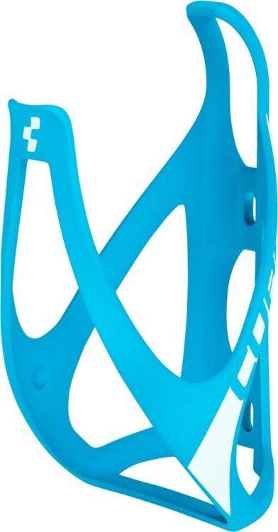 CUBE Flaschenhalter HPP matt blue n white