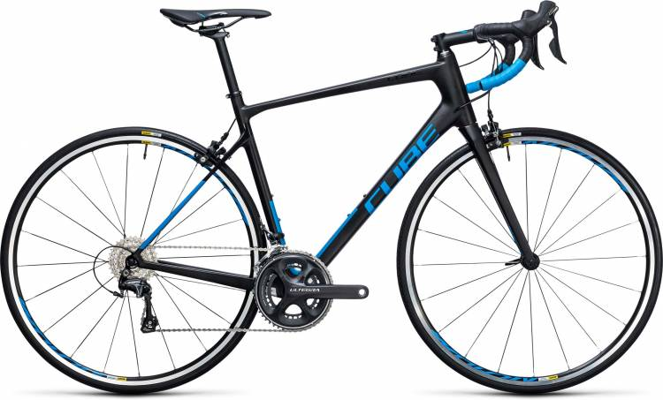 Cube Attain GTC Race carbon n blue 2017 - Road Bike Carbon Men