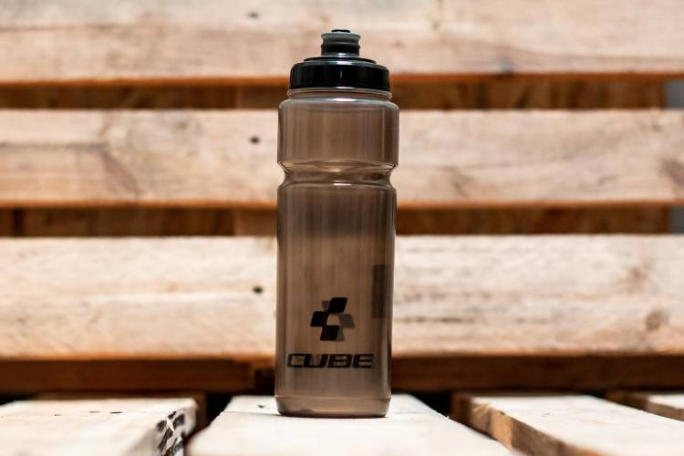 Cube drinking bottle 0,75l Icon black