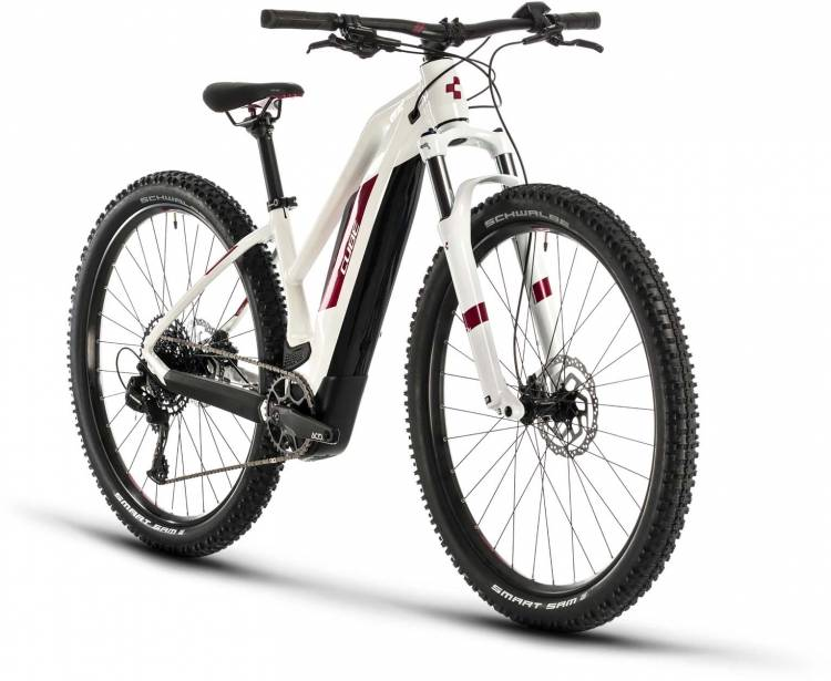 cube access hybrid pro 500 white n berry 2020 damen e bike hardtail mountainbike women cheap. Black Bedroom Furniture Sets. Home Design Ideas
