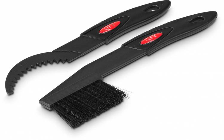 RFR spider brush and scraper set black