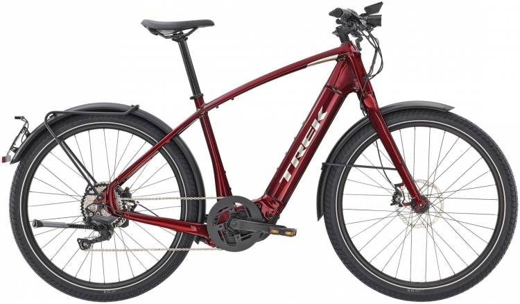 Trek Allant+ 8S Rage Red 45km/h 2020 - Touring E-Bike Men