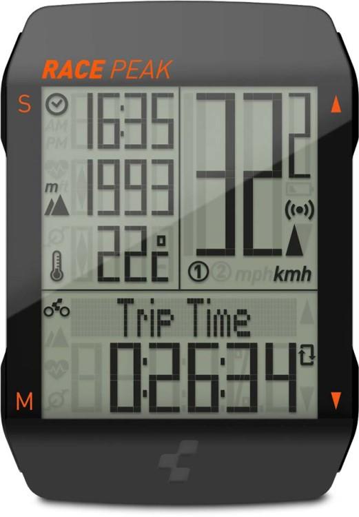 Cube Bike Computer RACE PEAK black n orange