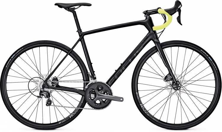 Focus Paralane Tiagra black/decal glossy 2017 - Road Bike Carbon Men